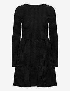 VIELITA L/S DRESS - NOOS - short dresses - black