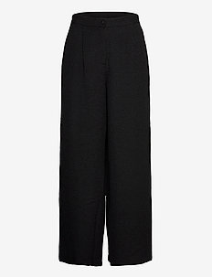 VIKOTA RW PANTS - wide leg trousers - black