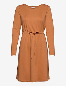 VIJUNER L/S DRESS  - FAV - korte kjoler - pumpkin spice