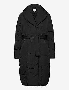 VIWANAS LONG JACKET/SU - quilted jackets - black