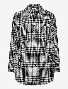 VICEYLA L/S SHIRT JACKET - overshirts - black