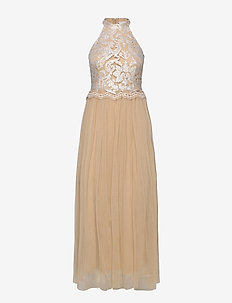 VIROSABELLA HALTERNECK MAXI DRESS/DC - evening dresses - nomad