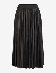 VINITBAN SKIRT/SU - - midi kjolar - black