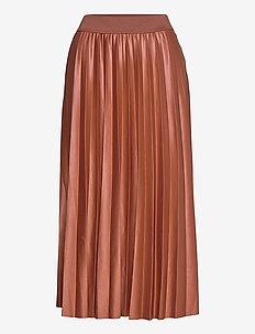 VINITBAN SKIRT/SU - - midi kjolar - tortoise shell