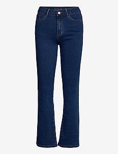 VIFLAIR EMILIA RW FLARED JEANS MBD - uitlopende jeans - medium blue denim