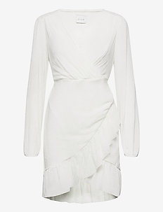VIANDREA L/S  DRESS/DC - festklänningar - cloud dancer