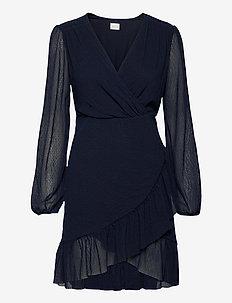 VIANDREA L/S  DRESS/DC - festklänningar - navy blazer