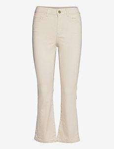 VIFLAIR GANDHIA RW KICKFLARE JEANS - bootcut jeans - natural melange
