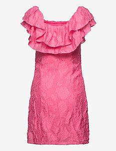 VICAROLINE S/L DRESS/DC - sommarklänningar - azalea pink