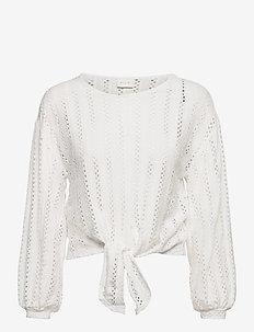 VIPILINE L/S T-SHIRT/4 - blouses met lange mouwen - cloud dancer