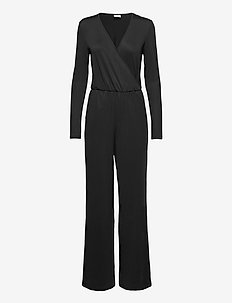 VILEOA 2/4 JUMPSUIT/OFW - jumpsuits - black