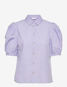 VIDOMMI 2/4 PUFF SHIRT /RX - overhemden met korte mouwen - forever blue