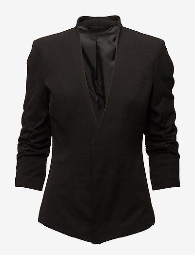 VIHER NEW 3/4  BLAZER/SU - casual blazers - black