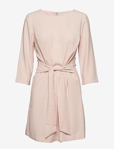 Vila VINATHALIA TIE BAND DRESS - ROSE SMOKE