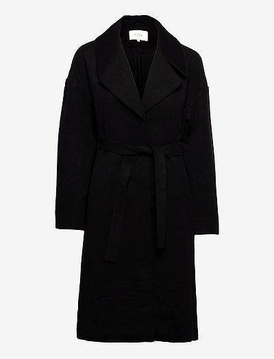 VICANDICE COAT/SU - vinterfrakker - black