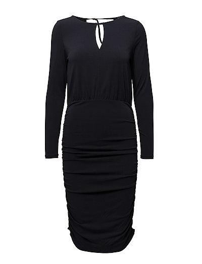 VIMOMA L/S DRESS - DARK NAVY