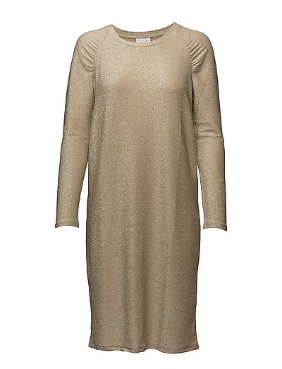 VICLIMA L/S DRESS - FROSTED ALMOND