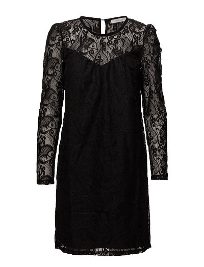 VITELL DRESS - BLACK