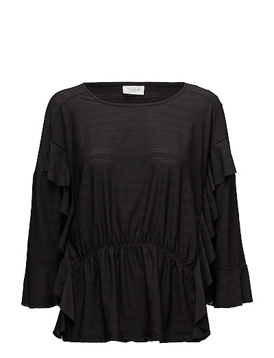 VIRANTIA 3/4 SLEEVE TOP/RX - BLACK