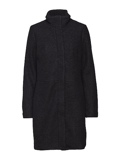 VIALANIS COAT-NOOS - BLACK