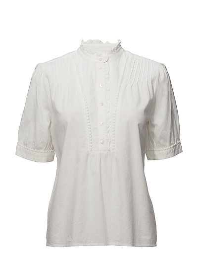 VIRACHIDA S/S TOP - CLOUD DANCER