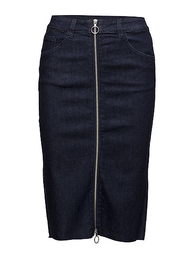 VIMARIANA DENIM SKIRT - DARK BLUE DENIM