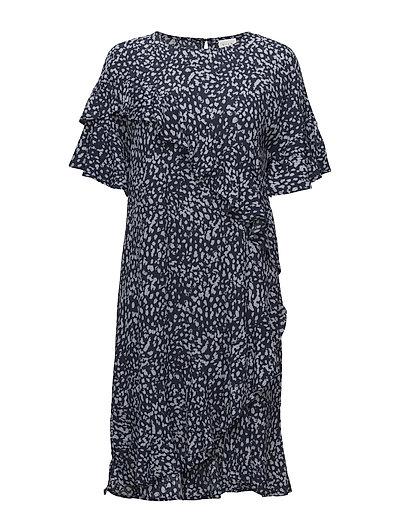 VIROSARIO S/S DRESS - TOTAL ECLIPSE