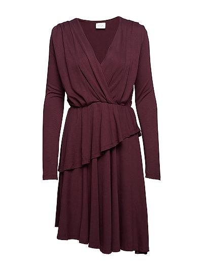 VIWANNA L/S DRESS - WINETASTING