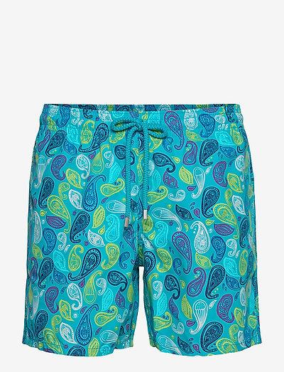 Men Swimwear Ocean Paisley Multicolore - shorts de bain - light azure / blue