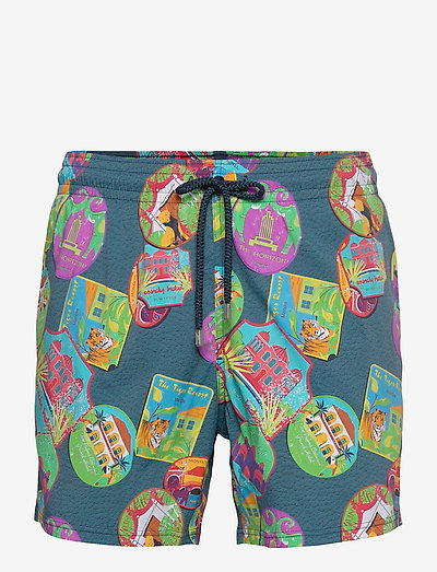 Men Swimwear Stretch Indian Resorts - shorts de bain - goa / blue