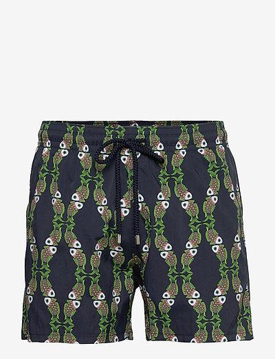 Men Swimwear Stretch Sweet Fishes - shorts de bain - navy / blue