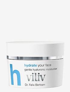 viliv h - hydrate your face, gentle hyaluronic moisturiser - NO COLOUR