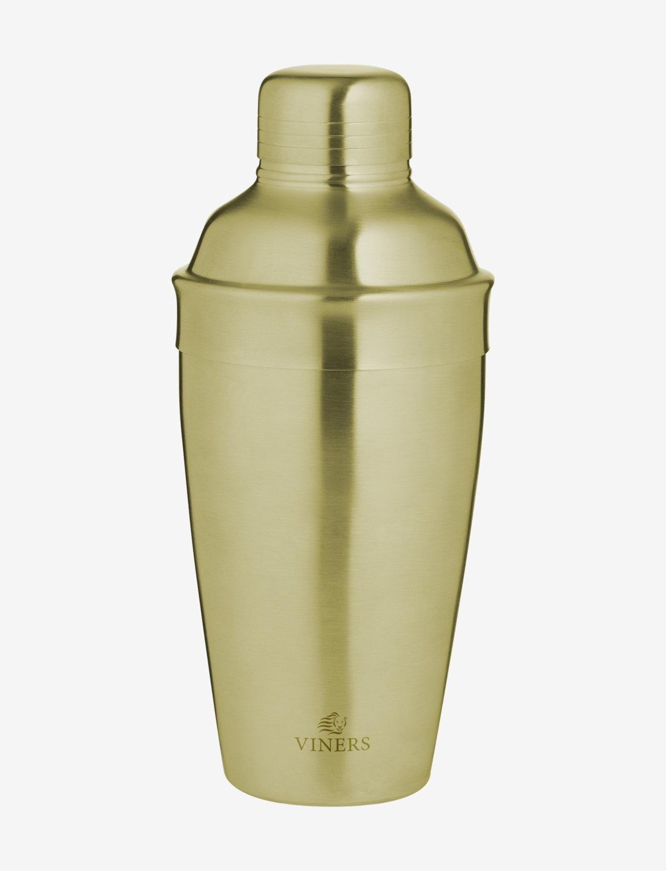 Viners - VIN BARWARE COCKTAIL SHAKER GOLD - cocktail shakere - gold - 0