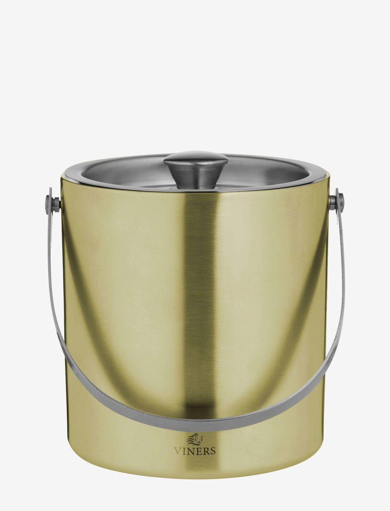 Viners - VIN BARWARE ICE BUCKET DOUBLE WALL - isbøtter - gold - 0