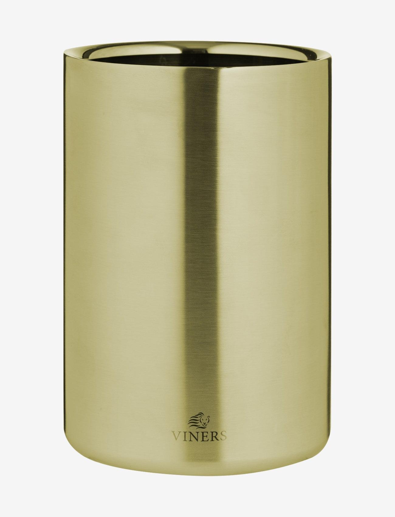 Viners - VIN BARWARE WINE COOLER DOUBLE WALL - vin & champagnekjølere - gold - 0