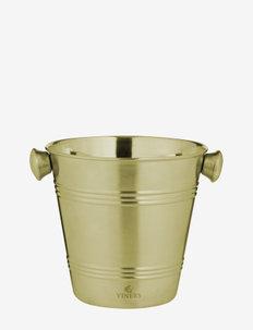 VIN BARWARE ICE BUCKET SINGLE WALL - isbøtter - gold