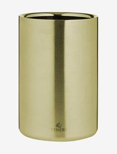 VIN BARWARE WINE COOLER DOUBLE WALL - vin & champagnekjølere - gold