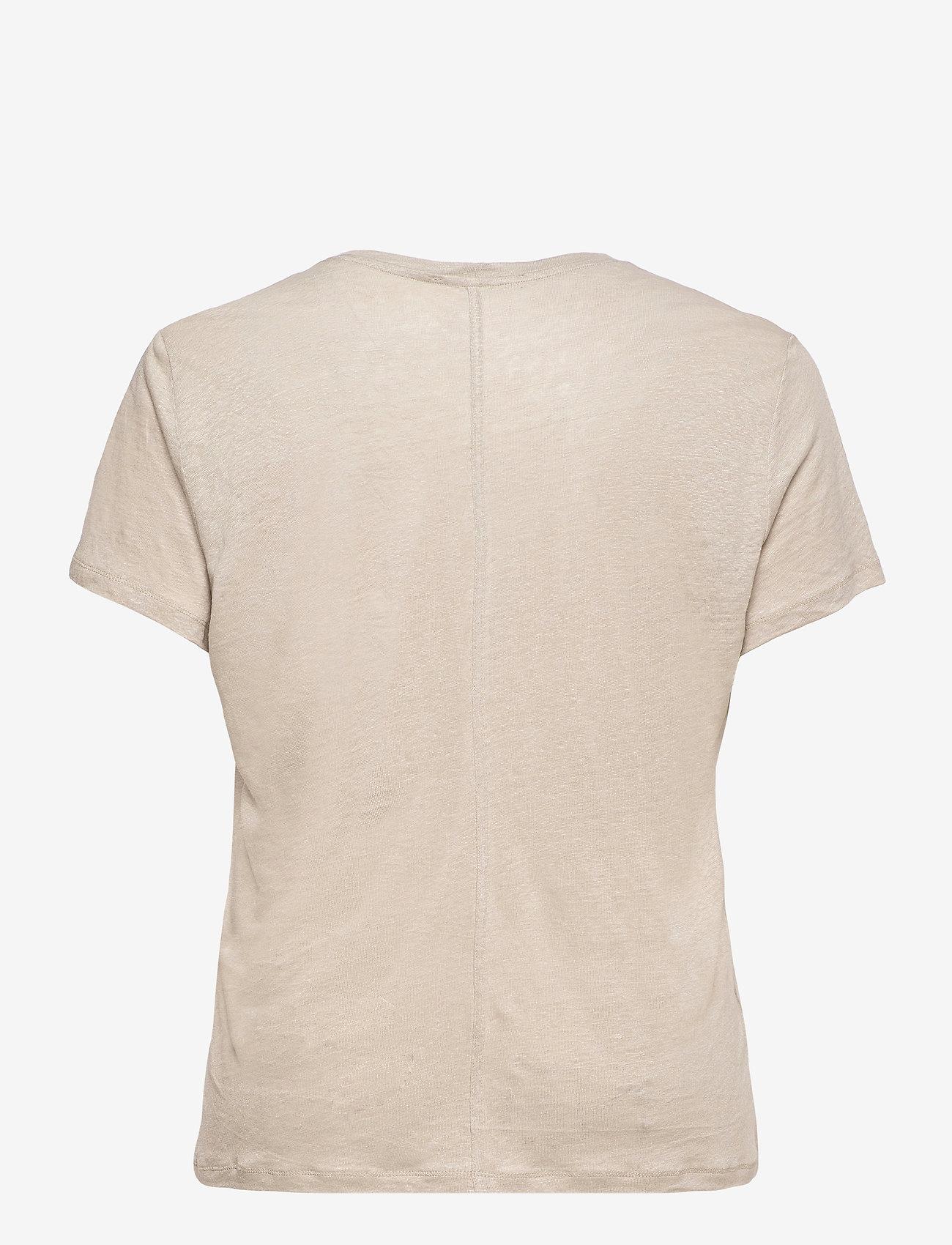Violeta by Mango - SILVERY8 - t-shirts - sand - 1