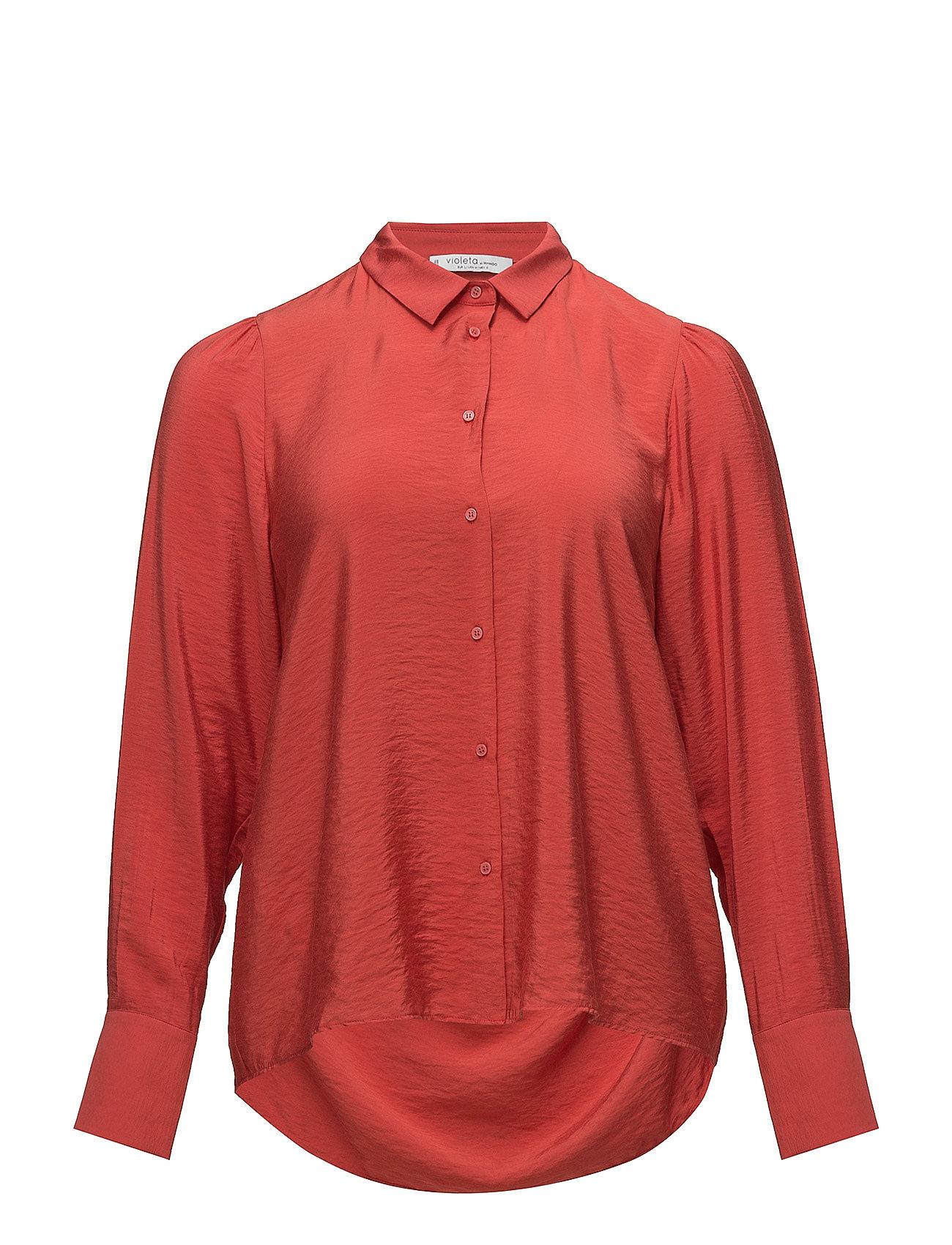 Image of Puffed-Shoulder Shirt (3052623123)