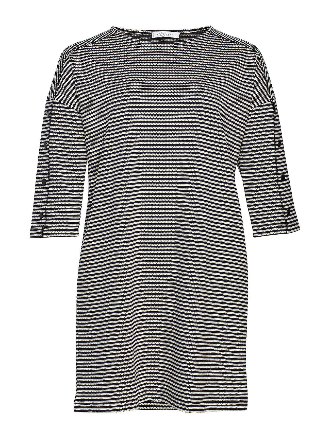 lilaa by Mango Striped cotton dress Klänningar