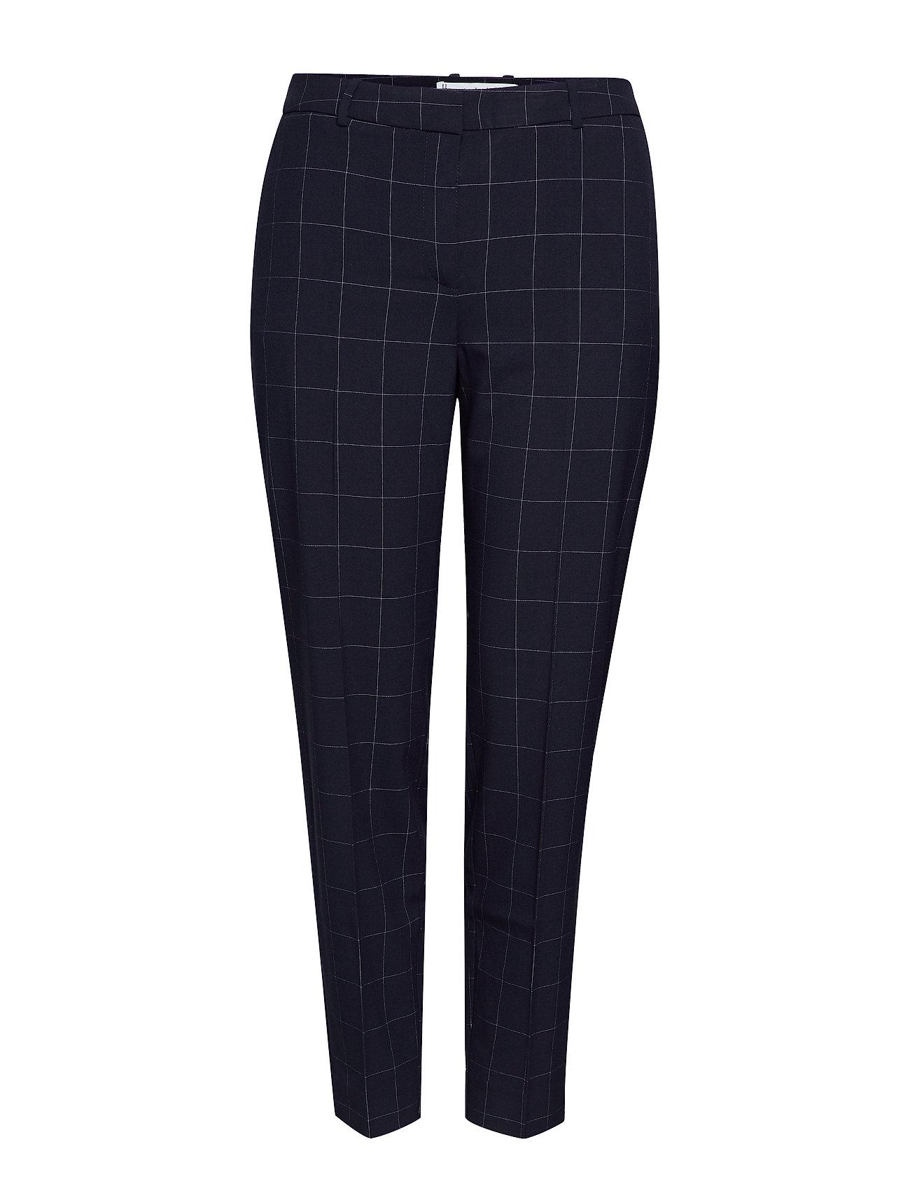 Violeta by Mango Slim-fit  trousers - NAVY
