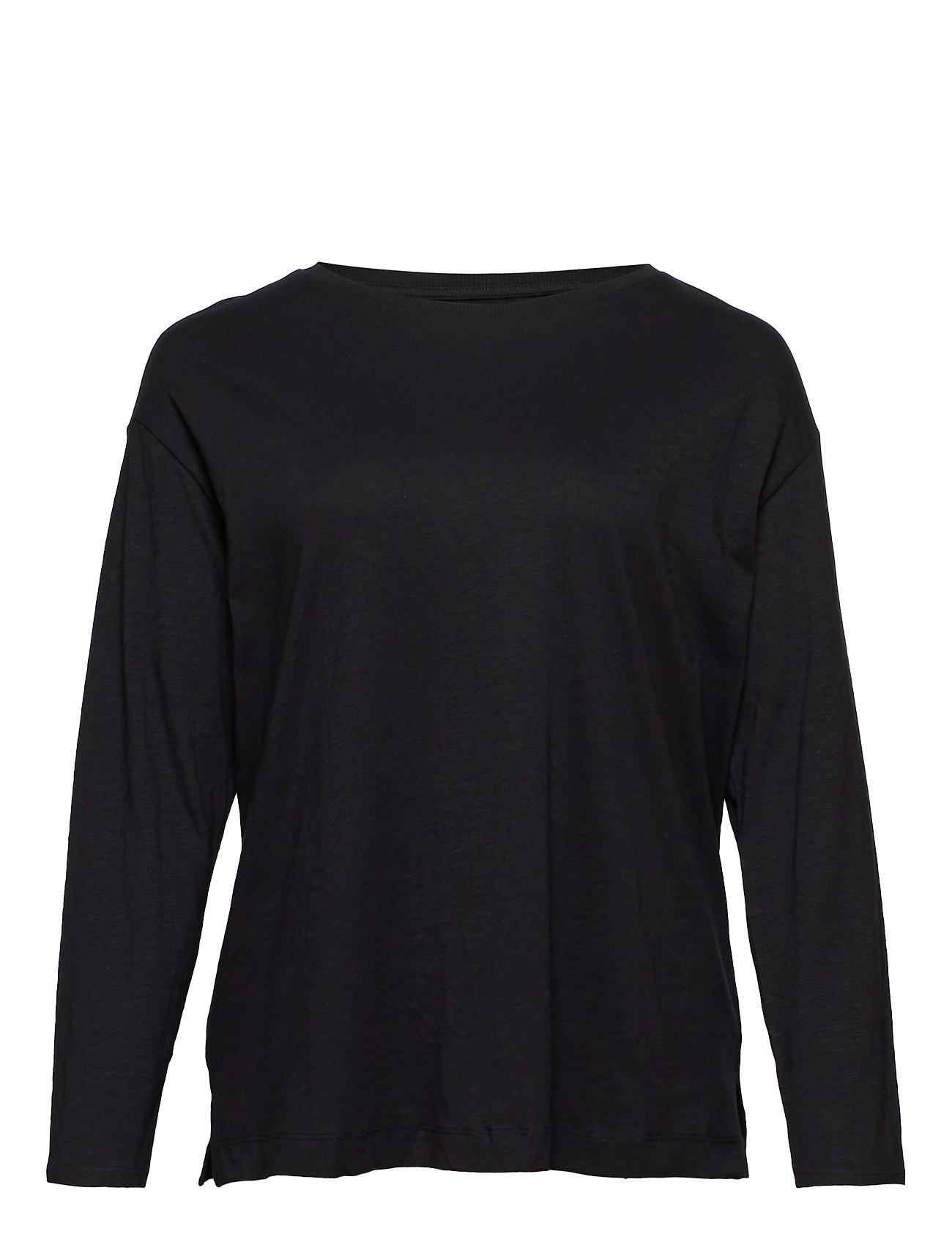 Violeta by Mango Organic cotton t-shirt - BLACK