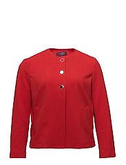 Welt pockets blazer - RED
