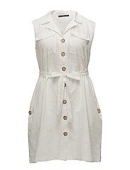 Violeta by Mango - Linen-Blend Shirt Dress