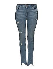 Slim-fit push up Mariah jeans - OPEN BLUE
