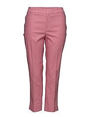 Linen suit trousers - LT-PASTEL PINK
