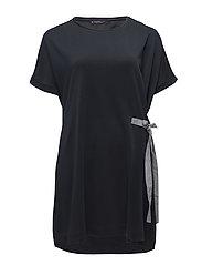 Violeta by Mango - Striped Bow Dress