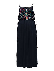 Violeta by Mango - Embroidered Long Dress