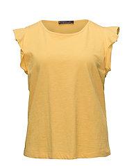 Violeta by Mango - Ruffled Sleeve T-Shirt