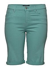 Cotton bermuda shorts - GREEN